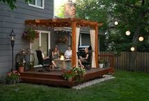 Backyard Makeover / Inspiration for our family-centered, backyard sanctuary. / by Teresa Fleming