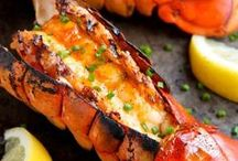 Dinner-Fish and Seafood Recipes / Recipes for fish and seafood; shrimp, salmon, crab recipes