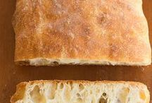 Baked--With Yeast / Recipes for bread using yeast, yeast bread, sweet rolls, bread rolls