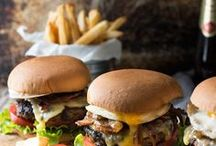 Sandwich and Burger Recipes / Recipes for burgers, sandwiches, sandwich wraps, sliders