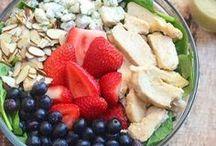 Salad Recipes / Recipes for salads, tossed salads, green salads