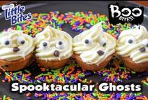 Boo Bites / Looking for spook-tacular snacks for your Halloween Party? Try these Little Bites® Muffins decoration ideas, great for kids and perfect for a craft night with mummy!