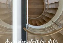 Holztreppen | Wooden Stairs