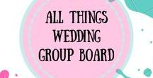 All Things Wedding Group Board / Group board for wedding ideas,wedding planners,wedding dress and all about weddings. Collaborators are welcome.