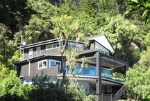 Bush and Beach Retreat / New Home located in Auckland, New Zealand