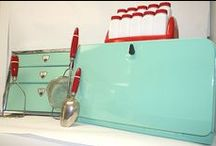 Red and Aqua / My favorite color combination. / by Judi Garber
