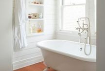 Bath / A pretty room to go and hide away from my troubles, and my kids. / by Judi Garber