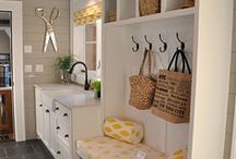 Mudroom / In my dream home, I will have a mudroom. / by Judi Garber