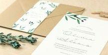 << Invitaciones Bodas PPS >> / Pequeña selección de trabajos especiales hechos a medida en PPS para bodas únicas e irrepetibles ♥