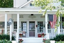 Veranda beach / Porches, curb appeal and garden-ish things. / by Judi VanValkinburgh Garber