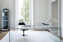 Desktop/Office / Home office, organized desks and stationary. / by Judi Garber