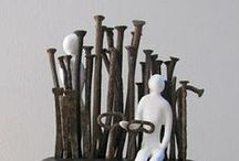 Sculpture & Assemblage / Sculptures and assemblage art, mostly / by Janet Botes