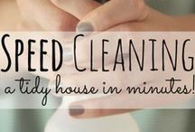 cleaning & organizing / by Whitney Bauman