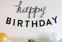 celebrate // the happiest of birthdays