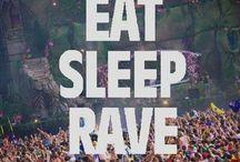 rave on / Everything edm