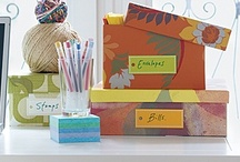 Office Organization / Great ideas for getting your office and/or home office organized!