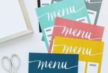 Kitchen Ideas / Ideas for the Kitchen including recipe book printables, kitchen decoration and organization, and MORE!