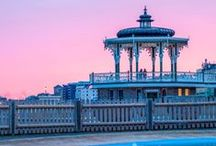All things Brighton Beautiful / This is the city in which I'm lucky enough to live. Here are images of a few places & events that are always happening throughout the year. But really, its the people that make this city such a vibrant & cosmopolitan place to enjoy.