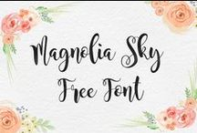Free Fonts / FREE Fonts to download and use! Great for graphic design.