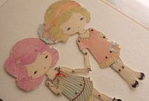 paper dolls / by Janet Stack