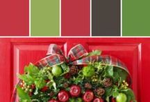 Holiday Hues | Classic Christmas / A Christmas of yesteryear filled with bright reds, and subdued deep greens. Festive and elegant this is the Christmas from past to present. A collection of recipes, holiday decor, entertaining ideas and more cheerful inspiration to bring the holidays home this season.