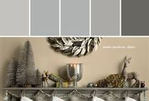 Holiday Hues | Silver Bells / Silver bling and metallics sing in this concept. Bring silver to life and light up your tree and your home with mirror like surfaces. Silver is a great holiday accent, but here we want to see it really shine.