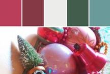 Holiday Hues | Out of the Box Christmas Color / Red and green not your thing for the holiday season? Try something out of the box...brighten your decor this year with bold pinks, blues and teals mixed with ribbons and other whimsical elements this is a sure way to have a fun filled holiday. Be consistent with you colors and this will be a success.