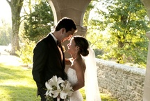 Real Wedding: Classic Elegance / As featured in Elizabeth Anne Designs and Cincinnati Wedding Magazine, effortless elegance and timeless style was the bride's desire for her wedding day—the feel of a backyard family wedding combined with a black tie affair at the Greenacres Art Center.