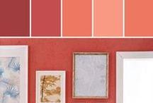 Coral   CL 1515A / Tiger Lily CL 1515A Dark Orange-Pink, Evokes Romance Sun 1