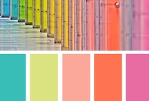 Color Palettes / Favorite color palettes and color schemes for designing and decorating