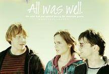 Potter, Weasley, & Granger. / by Valerie Mingee