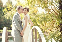 Real Wedding: Rustic Romance / See Josh & Cara's rustic romantic wedding at Ertel Cellars featured on Wedding Wire! http://blog.weddingwire.com/index.php/weddings/modern-rustic-fall-vineyard-wedding-in-indiana/ / by viva bella events