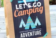 Camping Ideas and Recipes / TONS of Camping Ideas, Tips, and Hacks including: the best camping recipes, camping checklists, camping activities for kids, and MORE!