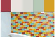 Ann Sacks Color Inspiration   Stylyze / When you want stunning tile that is going to transform your space with color, design and pure natural beauty it doesn't get better than Ann Sacks. Their designer collections are unbelievably unique, artistic and multidimensional. There is a style for every project and a collection that will match your concept perfectly. If you can dream it Ann Sacks can deliver it.