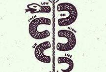 Tattoo Ideation / Sleeves, illustration styles, ideas / by Justin Pocta