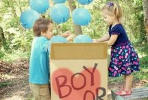 Gender Reveal Ideas / Fun and Creative Gender Reveal Ideas for Pregnancy Announcements and Parties!