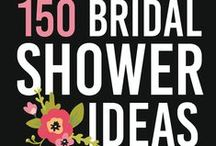 Bridal Shower Ideas / TONS of Bridal Shower Ideas Including: Party Games, Gift Ideas, Decor Ideas, Food Ideas, Favors, and MORE!