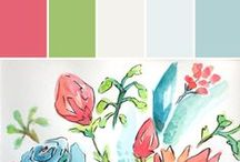 Hattan Home Color Inspiration   Stylyze / Treats for your Home! Along with colorful paint palettes to compliment your favorite products.