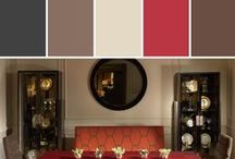Schoenfeld Interiors Color Inspiration   via Stylyze