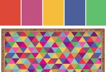 DENY Designs Color Inspiration   Stylyze / DENY Designs is a modern, think-outside-the-box home furnishings company with some of the most fun, inventive color palettes for stylish living.