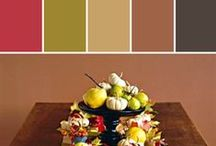 Holiday Hues    Thanksgiving  / We want to help you get inspired to host the most delightful Thanksgiving your family, friends or dogs have ever had. It doesn't matter how many people attend, its about making the day special. #Stylyze #Thanksgiving #ColorInspiration