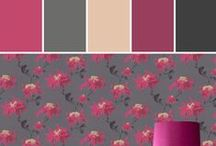 Graham & Brown Color Inspiration   Stylyze / At Graham & Brown we know what walls want - pattern and colour! They don't want to be lifeless, plain, and boring. They want to be wrapped in pattern and embellished with art. If wallpaper is the stuff that surrounds you, then it should be beautiful to look at, tactile, and personal to you and your home.