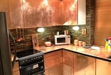 kitchen make-over / Making over my old kitchen on a budget! / by Stall 69 UK