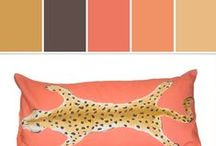 """Zhush Color Inspiration   Stylyze / Zhush:  In the process of undertaking a massive home renovation and a smaller renovation to our ski condo, I became addicted to design blogs and realized there is a whole world of people as obsessed with good design and style as I am. Thus began Zhush, a French verb meaning """"to primp or fluff up."""""""