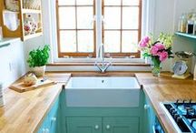 *Kitchen Spaces* / Planning and dreaming for our kitchen renovation! / by Red and Honey