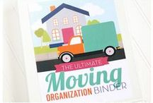 Moving Tips and Checklists / Moving tips, tricks, ideas, and HACKS for moving day!