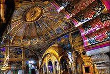 Temples, Churches & Spiritual Places INSIDE / Interiors & Details