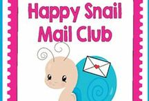 "Happy Snail Mail Club / ""Sending smiles in small packages"" For those who love sending (and receiving!) ""old fashioned"" mail and fun packages to pen pals. Join us! www.HappySnailMailClub.com or sign up here: http://eepurl.com/bUhpOH"