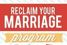 Reclaim Your Marriage Program / Divorce-proof your marriage in just 10 weeks with The Dating Divas' at-home marriage program. Each week there is a different session to strengthen your relationship: Goals, Dating, Self-Esteem, Communication, Teamwork, Respect, Forgiveness, Trust, Finances, and Intimacy. Get ready to reclaim your marriage!