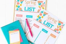 Spring Ideas / Ideas, Tips, Tricks, and Printables for SPRING!